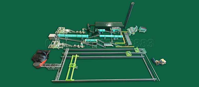 200000 Ton Large Scale Manure Fertilizer Production Line